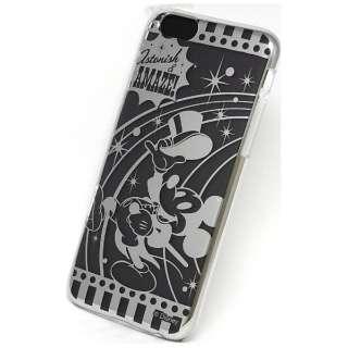 iPhone 6用 カスタムカバー シルバー ディズニー・ミッキー IP6SVMICKEY