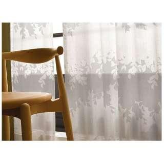 レースカーテン シゲミ(100×133cm/ホワイト)【日本製】[生産完了品 在庫限り]