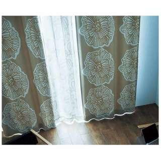 ドレープカーテン ダイリン(100×178cm/ベージュ)【日本製】