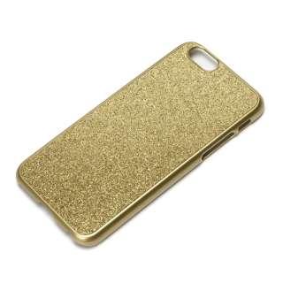iPhone 6用 グリッターケース ゴールドラメ PG-I6PC11GD