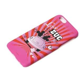 iPhone 6用 ラバーコートハードケース ディズニー・ミッキー&ミニー PG-DCS876MM