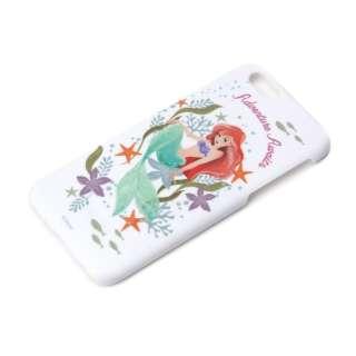 iPhone 6用 ラバーコートハードケース ディズニー・アリエル PG-DCS877ARL