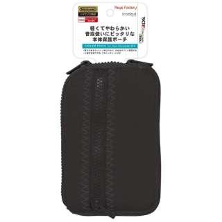 クッションポーチ for Newニンテンドー3DS ブラック【New3DS】