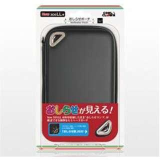 おしらせポーチ(New 3DS LL用) ブラック【New3DS LL】