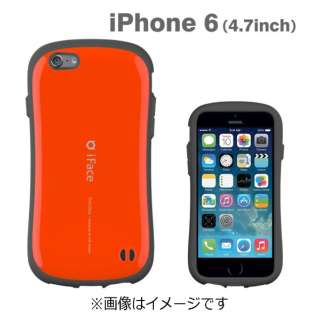 iPhone 6用 iface First Classケース オレンジ IP6IFACEFIRST47OR
