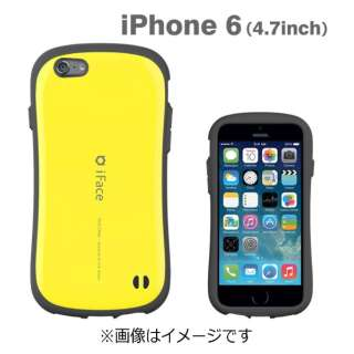 iPhone 6用 iface First Classケース イエロー IP6IFACEFIRST47YE