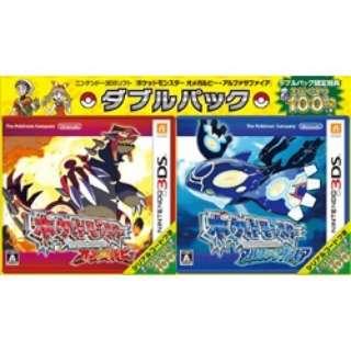 「ポケットモンスター オメガルビー・アルファサファイア」ダブルパック【3DS】