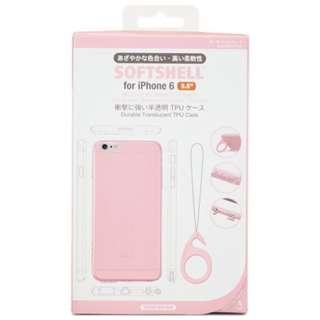 iPhone 6 Plus用 SOFTSHELL カーネーションピンク TUN-PH-000330