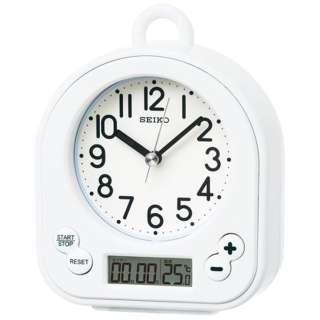 置き時計 BZ358W(白)