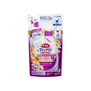 【トイレマジックリン】 消臭・洗浄スプレー アロマジャスミン&オレンジの香り つめかえ用 350ml〔トイレ用洗剤〕