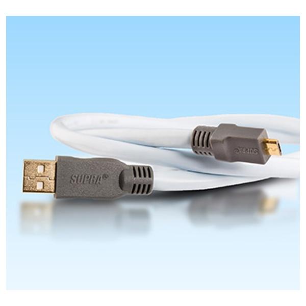 SUPRA USB 2.0 Micro B [2m]