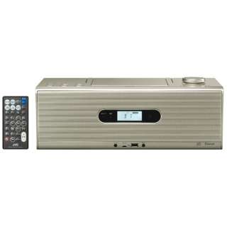 CDラジオ RD-W1 シャンパンゴールド [Bluetooth対応 /ワイドFM対応 /ハイレゾ対応]
