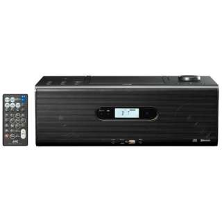 CDラジオ RD-W1 ブラック [Bluetooth対応 /ワイドFM対応 /ハイレゾ対応]