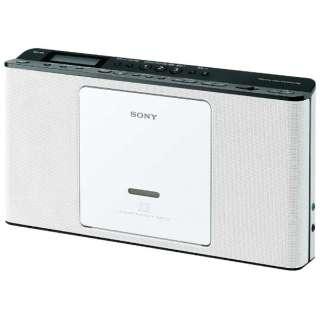 ZS-E80 CDラジオ ホワイト [ワイドFM対応]