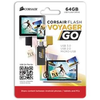 CMFVG-64GB-EU USBメモリ [64GB /USB3.0 /USB TypeA+microUSB /キャップ式]