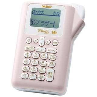 ラベルライター 「ピータッチ(P-touch)」(テープ幅:12mmまで) PT-J100P(ライトピンク)