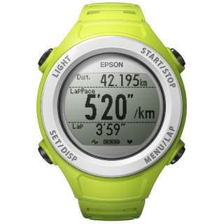 SF-110G GPS機能搭載ウオッチ WristableGPS グリーン