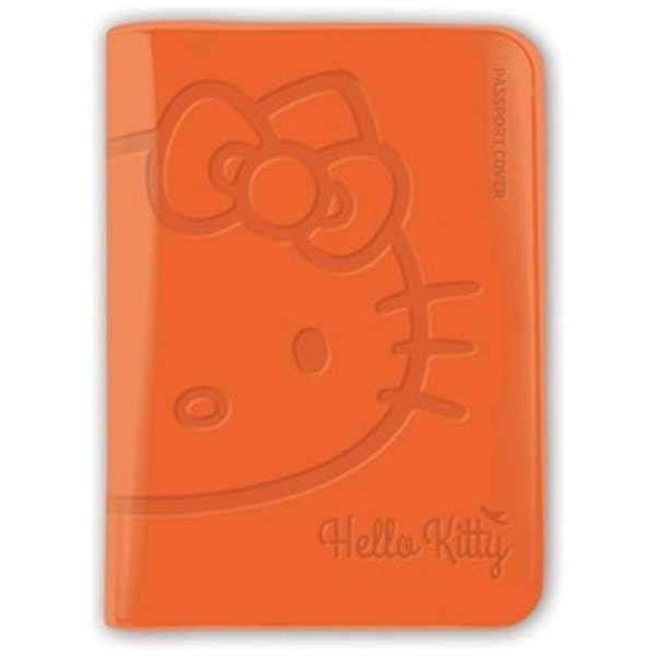 パスポートカバー HELLO KITTY BV PASSPORT COVER SNAK-002-2 オレンジ