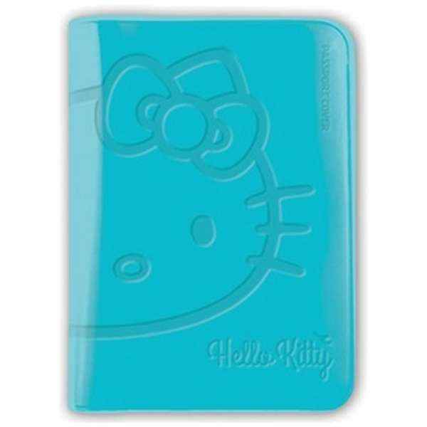 パスポートカバー HELLO KITTY BV PASSPORT COVER SNAK-002-5 Cブルー