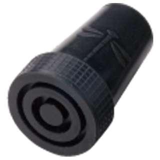 杖先ゴム 16から17mm 黒  (トンボマーク付)