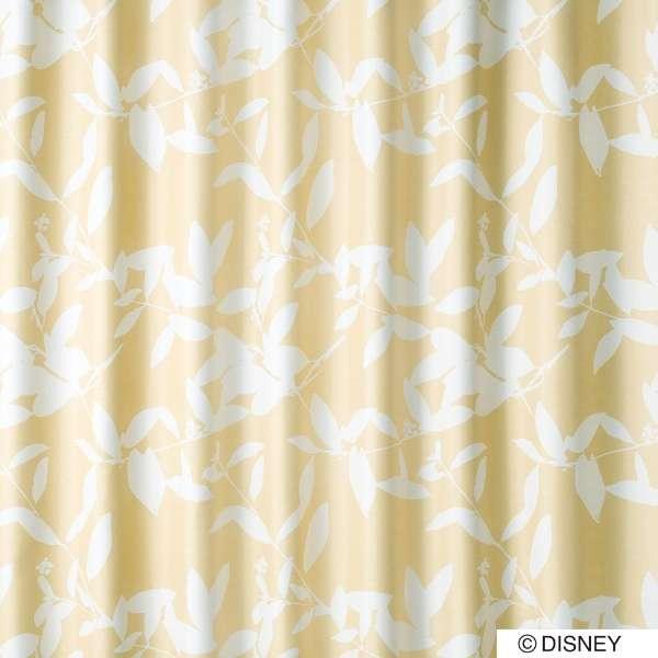 ドレープカーテン ミッキー/ブロードリーフ(100×135cm/ベージュ)【日本製】[生産完了品 在庫限り]