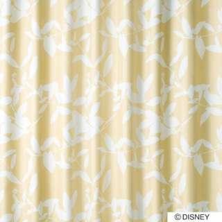 ドレープカーテン ミッキー/ブロードリーフ(100×200cm/ベージュ)【日本製】[生産完了品 在庫限り]