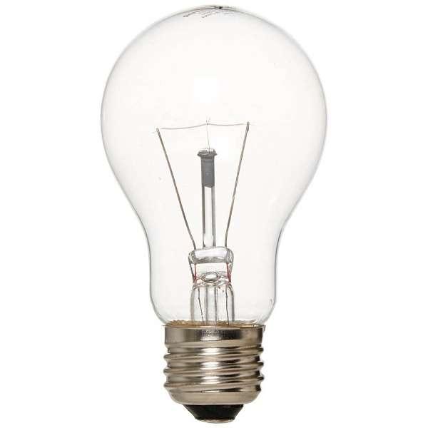 L100V40WCL 白熱電球 クリア [E26 /電球色 /1個 /一般電球形]