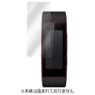 スマートウォッチ用液晶保護シート「OverLay Brilliant for SmartBand Talk SWR30用」(2枚組) OBSWR30 クリア