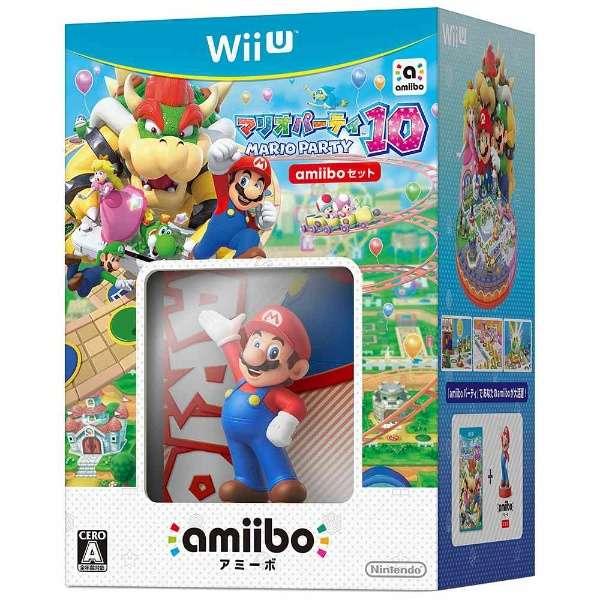 マリオパーティ10 amiiboセット【Wii Uゲームソフト】