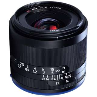 カメラレンズ 2/35 Loxia ブラック [ソニーE /単焦点レンズ]