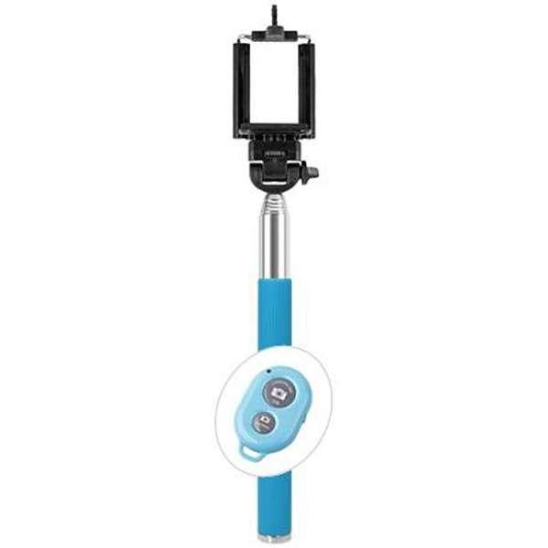 自分撮りスティックsmastickスマスティック(リモコン付/ブルー) SS-02RBL [生産完了品 在庫限り]