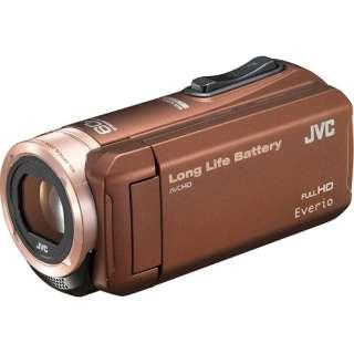 【アウトレット品】 SD対応 32GBメモリー内蔵フルハイビジョンビデオカメラ(ブラウン) GZ-F100-T 【生産完了品】
