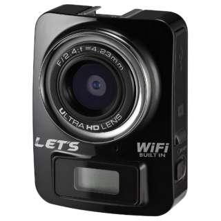 L-MC4KBK アクションカメラ [フルハイビジョン対応 /防水]