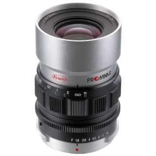 カメラレンズ PROMINAR25mm F1.8 シルバー [マイクロフォーサーズ /単焦点レンズ]