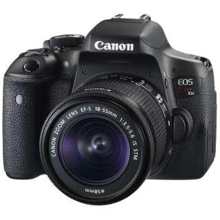 EOS Kiss X8i デジタル一眼レフカメラ EF-S18-55 IS STM レンズキット [ズームレンズ]