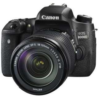 EOS 8000D デジタル一眼レフカメラ EF-S18-135 IS STM レンズキット [ズームレンズ]