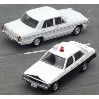 トミカリミテッド ヴィンテージNEO LV-太陽にほえろ!02「激突」より 三菱ギャランΣパトカー+日産グロリア(白)2台セット