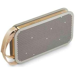 BeoPlay A2 Gray ブルートゥース スピーカー グレー [Bluetooth対応]