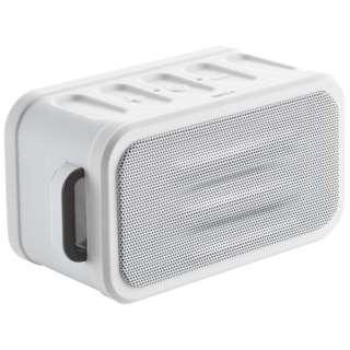 MXSP-BTS150 ブルートゥース スピーカー ホワイト [Bluetooth対応 /防水]