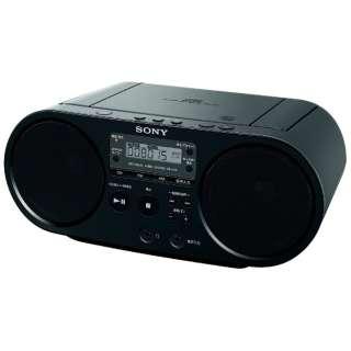 ZS-S40 CDラジオ ブラック [ワイドFM対応]
