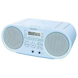 ZS-S40 CDラジオ ブルー [ワイドFM対応]