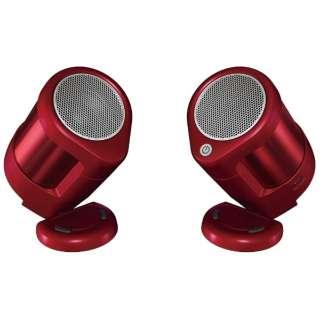 SSA40S R ブルートゥース スピーカー レッド [Bluetooth対応]