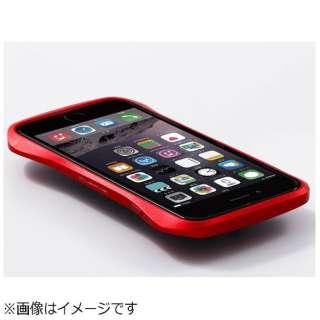 iPhone 6用 CLEAVE Aluminum Bumper レッド DCB-IP60A6RDR