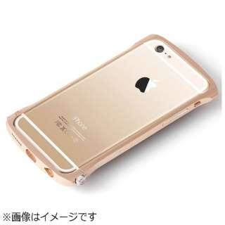 iPhone 6用 CLEAVE Chrono Aluminum Bumper ゴールド DCB-IP61A6GDR