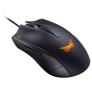 STRIXCLAW ゲーミングマウス ROG ブラック [光学式 /8ボタン /USB /有線]