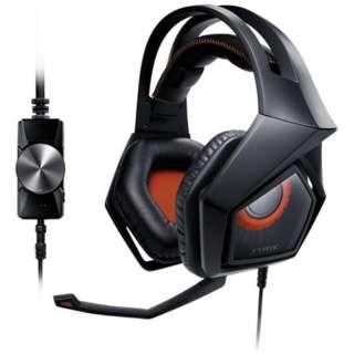 STRIX PRO ゲーミングヘッドセット STRIX ブラック [φ3.5mmミニプラグ /両耳 /ヘッドバンドタイプ]