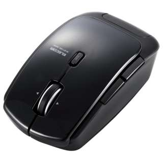M-BT13BLBK マウス M-BT13BLシリーズ ブラック  [レーザー /5ボタン /Bluetooth /無線(ワイヤレス)]