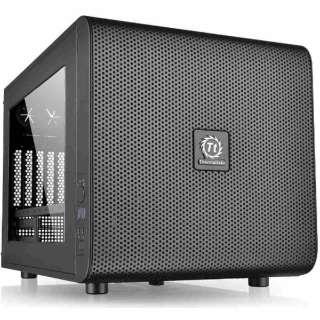 Micro ATX/Mini ITX対応キューブ型PCケース Core V21 (電源なし・ブラック) CA-1D5-00S1WN-00