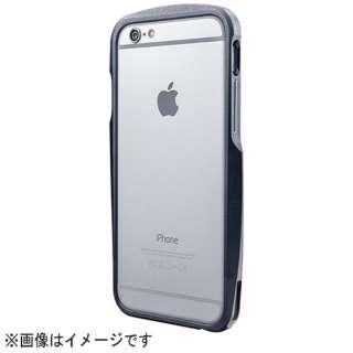 iPhone 6用 Round Metal Bumper MB524 ネイビー MB524NV