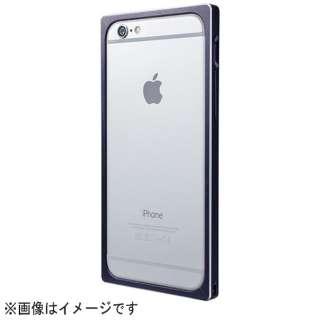 iPhone 6用 Straight Metal Bumper MB514 ネイビー MB514NV